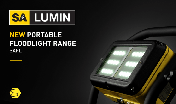 atex floodlight range, intrinsically safe