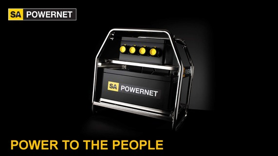 SA POWERNET ATEX product with a black background